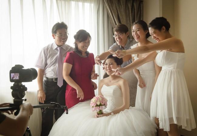 [婚攝]秉岳&念慈 婚禮紀錄@台北 福華飯店